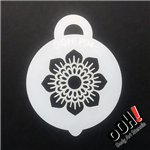 Henna Sunflower petite ooh! Face Paint Stencil for face painting and airbrush tattoos