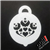 Royal Heart petite ooh! Face Paint Stencil for face painting and airbrush tattoos
