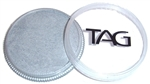 tag silver shimmer face paint