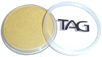 tag Gold shimmer face paint