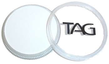 tag White shimmer face paint