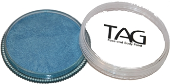 tag Sky Blue shimmer face paint