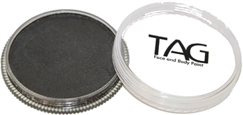 tag Black shimmer face paint