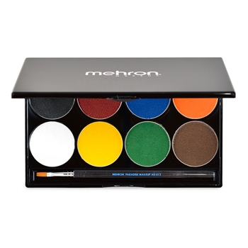 Mehron, Paradise, face paint, face paints, face paint palette, beginner face painter, halloween face paint, paradise paint, mehron paint, stage makeup