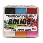 Highly Pigmented ProAiir Solids Hybrid Primary Color Water Resistant Makeup Palette