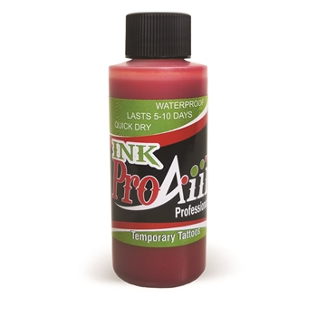 Blood Red ProAiir INK airbrush alcohol based tattoo ink