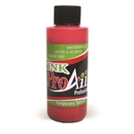 Lipstick Red ProAiir INK airbrush alcohol based tattoo ink