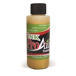 Metallic Gold ProAiir INK airbrush alcohol based tattoo ink