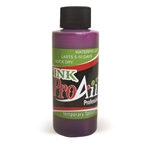 Purple ProAiir INK airbrush alcohol based tattoo ink