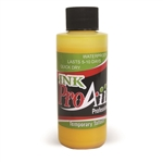 Yellow ProAiir INK airbrush alcohol based tattoo ink