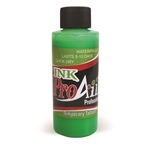 UV Flo Green ProAiir INK airbrush alcohol based tattoo ink
