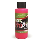 UV Flo Hot Pink ProAiir INK airbrush alcohol based tattoo ink