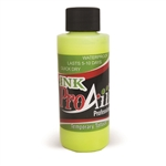 UV Flo Yellow ProAiir INK airbrush alcohol based tattoo ink