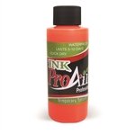 UV Flo Orange ProAiir INK airbrush alcohol based tattoo ink