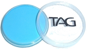 tag light blue face paint