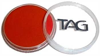 Tag red face paint