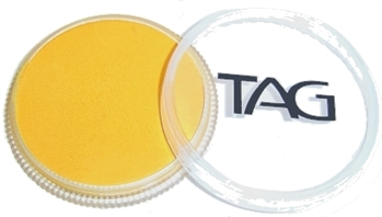Tag golden orange face paint