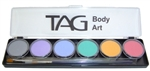 TAG Pastel Face Paint Palette