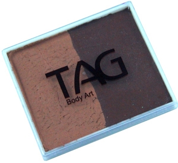 Tag brown color split cake