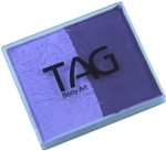 Tag Lilac and purple 2 color split cake