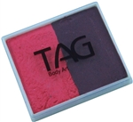 Tag berry wine and pink 2 color split cake
