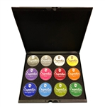 Superstar standard pallet holds twelve 45gr jars of select paint colors.