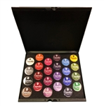 Superstar Standard Pallet holds twenty four 16gr jars of select paint colors.
