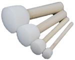 Tag sponge dauber pack of 4 multi sizes.