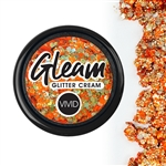 Vivid Harvest Chunky Glitter Cream of orange and gold