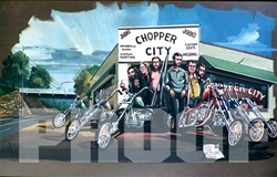Chopper City Poster Print