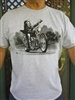 Short Sleeve Cruzin Mann T-Shirt with Logo Face On Back