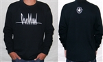 Long Sleeve Signature Shirt with Logo Face on Back - Large