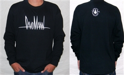 Long Sleeve Signature Shirt with Logo Face on Back