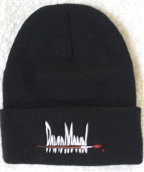 "David Mann Signature 12"" Solid Knit Beanie"