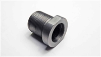 "1/2""-28 to 5/8""-24 TPI Stainless Steel Thread Adapter"