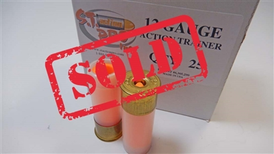 S.T. Action Pro 12ga Dummy Training rounds for practicing shotgun reloads for 3-gun competition