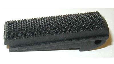 1911 and 2011 pistol mainspring housing with no arch flat Checkered Texture plastic polymer