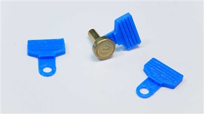 Dillon locator pin tabs | locator pin | dillon pin flag | dillon precision locator button pin tab | 1050, 650, 550, SDB, Square Deal B, 900 Reloading Presses | Dillon accessories | Dillon reloading accessories | reloading press accessories | locator