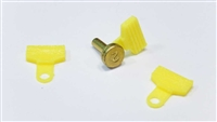 Dillon locator pin tabs | locator pin | dillon pin flag | dillon precision locator button pin tab | 1050, XL650, XL750, 550, SDB, Square Deal B, 900 Reloading Presses | B084BQRJJV | Dillon reloading accessories | reloading press accessories | locator