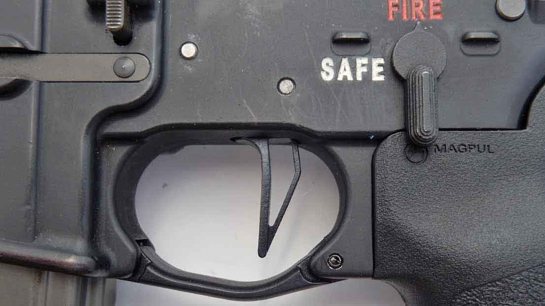 Ar15 And Ar10 Drop In Replacement Flat Trigger Lighten
