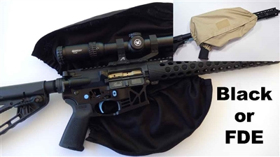 Rifle / Scope Dust Cover for 3-Gun Rifles & Carbines