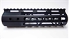 "Ar15 free float rail .223 5.56mm rifle carbine forearm 7"" carbine rifle tacfire"
