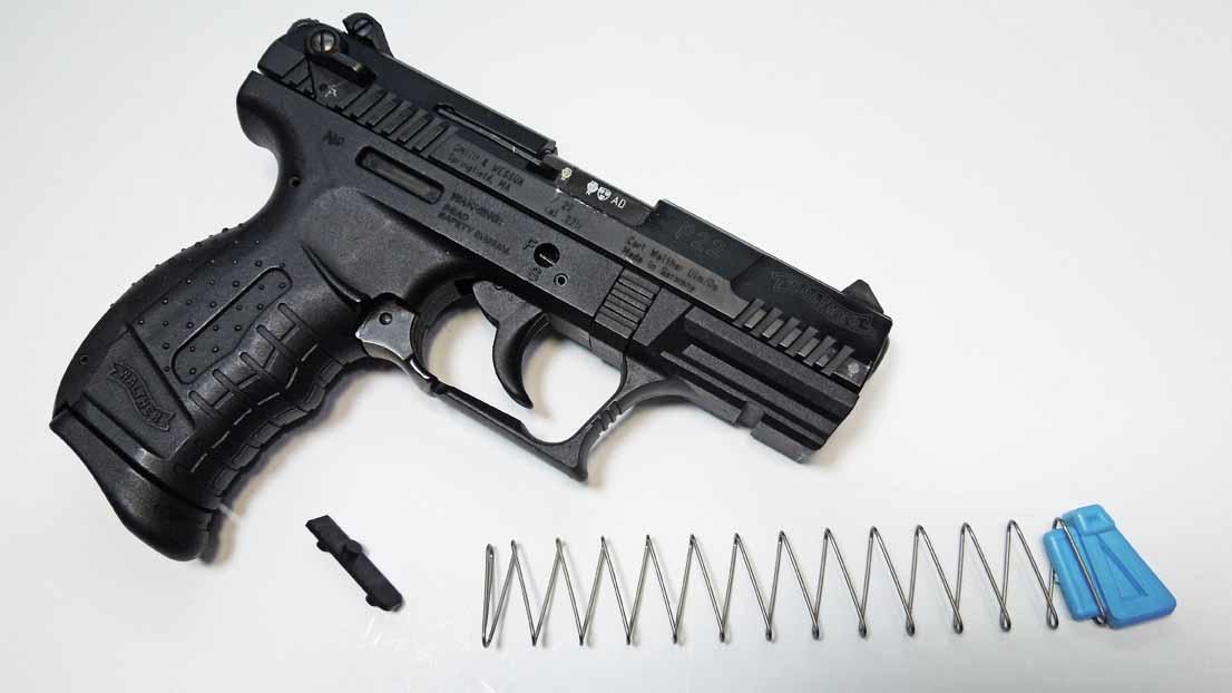 Walther P22, P22Q, P22QD, PPK, PPKS, SP22 13+1 Magazine Upgrade