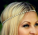 Gold and pearl head chain