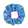 metallic hair scrunchie