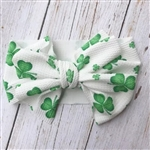 Super wide headband with giant bow