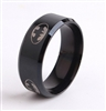 Black ring with batman symbol SIZE 11