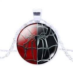 Spiderman pendant necklace