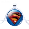 Superman pendant necklace