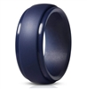 Navy blue silicone ring